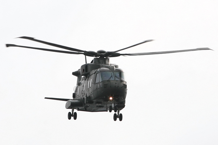 Merlin Helicopter Leeds