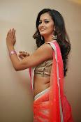 Shubra Aiyappa glamorous in half saree-thumbnail-11