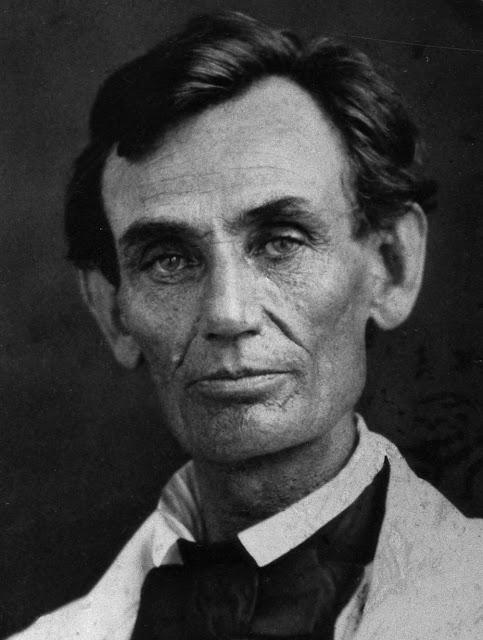 Abraham Lincoln, 1858