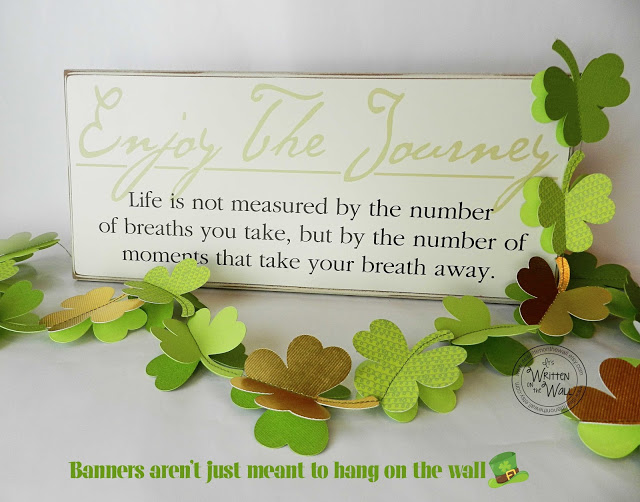 Tutorial St. Patrick Day Garland / Banner