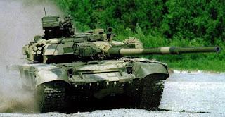 tank t-90 rusia