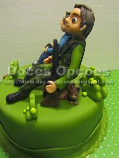 bolo caçador
