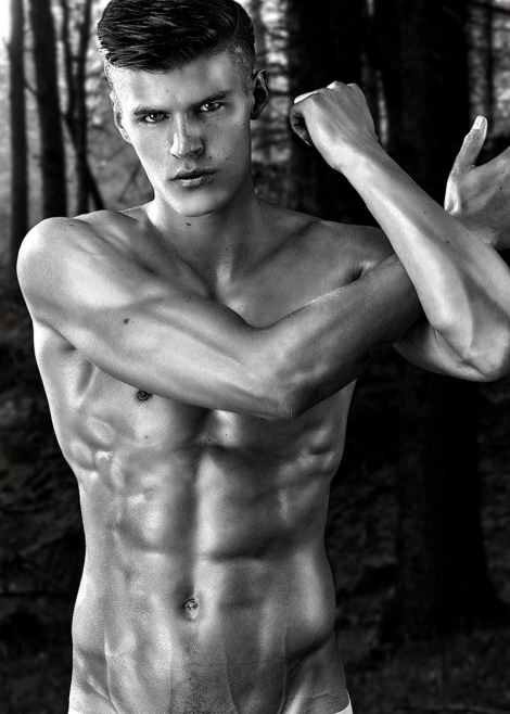 Matt Woodhouse by Daniel Jaems for 'Gods of Beauty'
