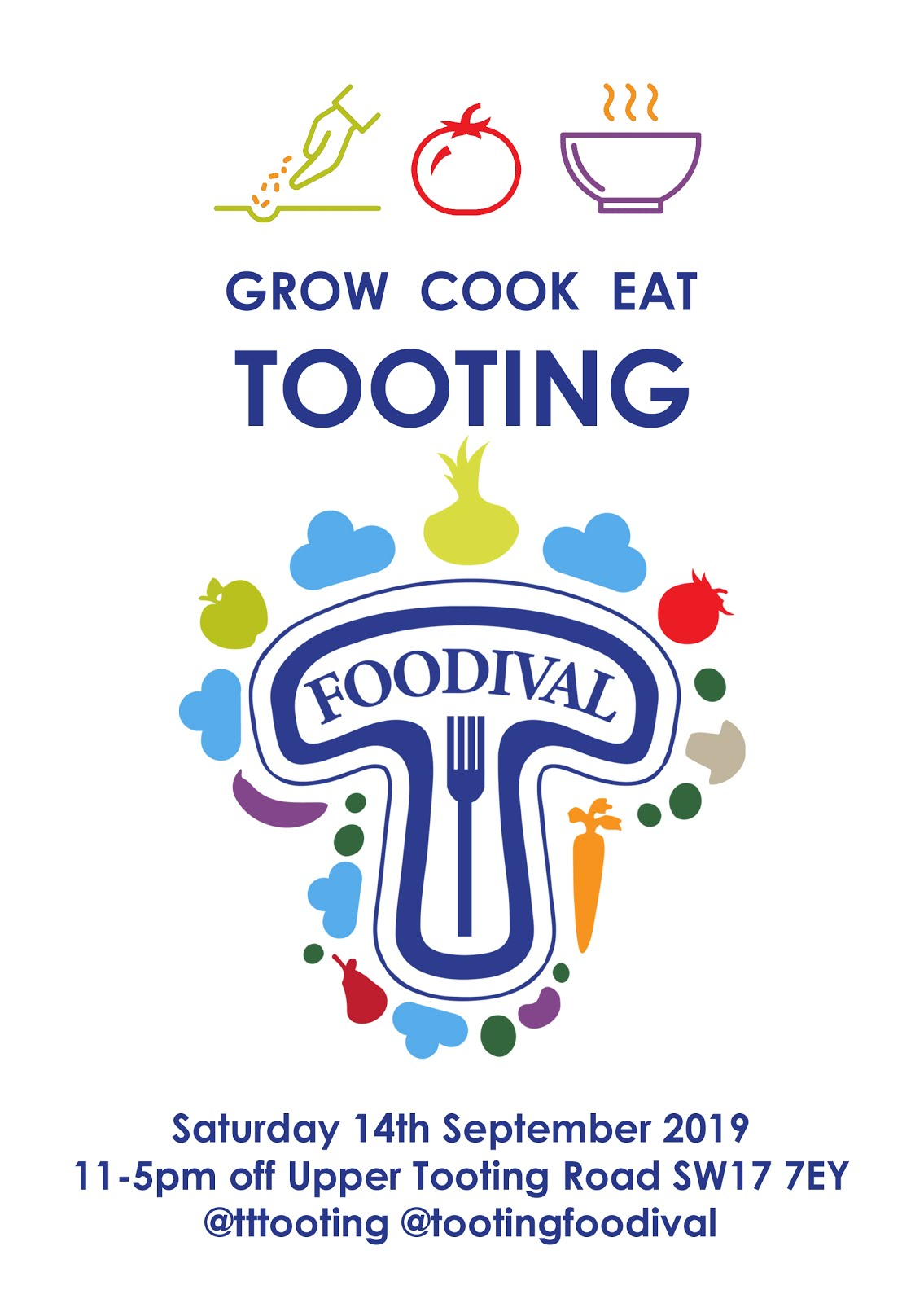 Tooting Foodival Full Schedule!