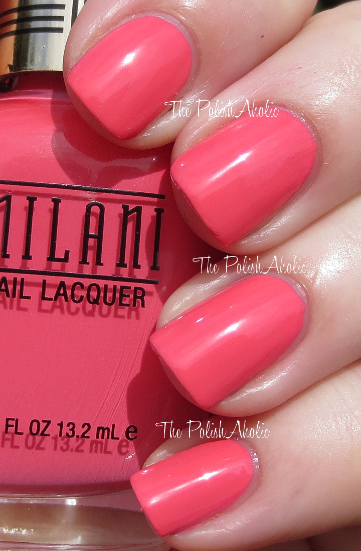 The PolishAholic: Milani Spring 2014 Gold Label Nail Lacquer Swatches
