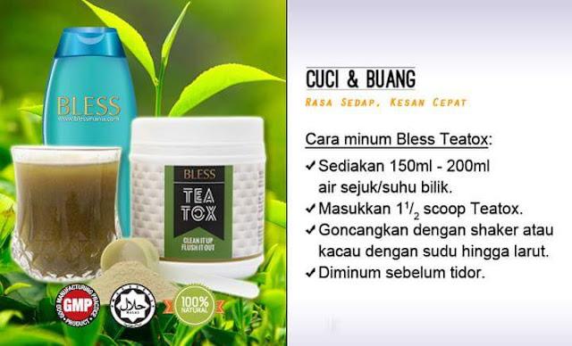 Cara Pengambilan Bless TeaTox