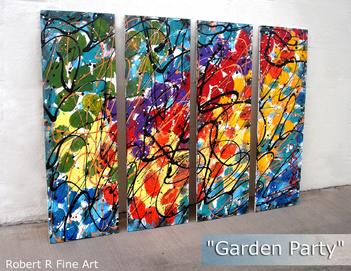 Original Art Abstract Paintings Modern Online Gallery Artist Home Decor