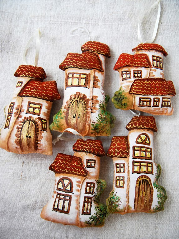 Домики из текстиля
