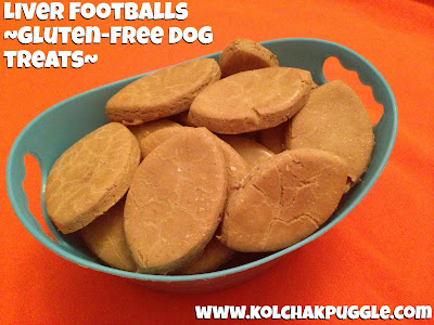 Tasty Tuesday: #SuperDog Sunday Liver Football Dog Treats