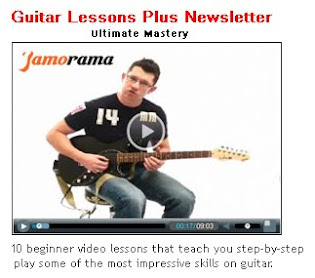 Guitar Tutorial Video Lessons