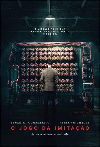 """Poster do filme """"O Jogo da Imitação"""""""
