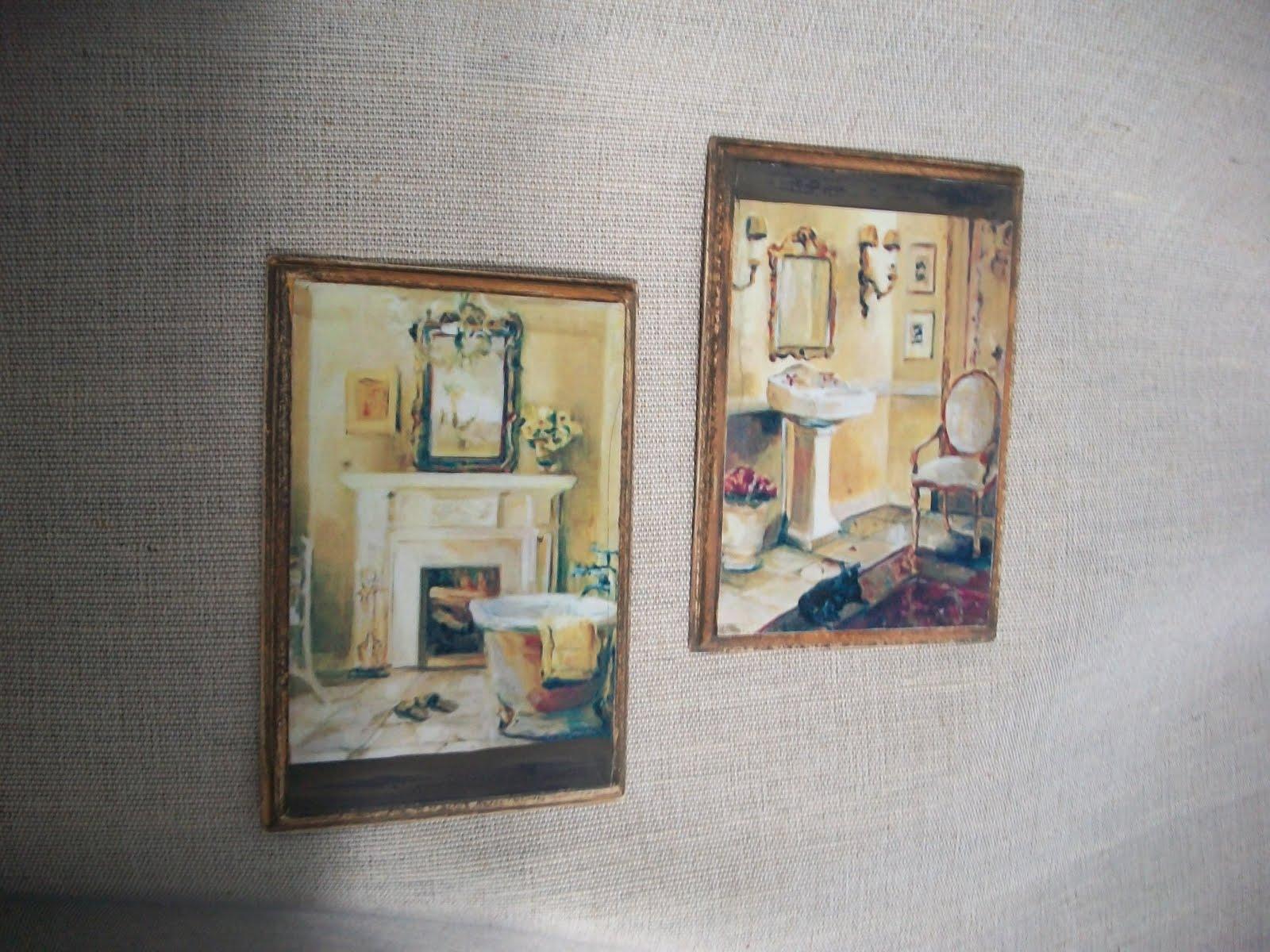 Liz peque os cuadros para ba os y vestidor - Cuadros para banos pequenos ...
