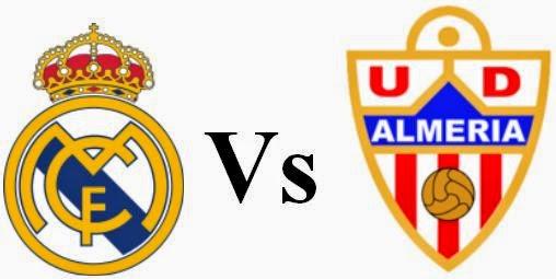 مشاهدة مباراة ريال مدريد وألميريا 12-4-2014 بث مباشر علي بي أن سبورت مجانا Real Madrid vs Almeria