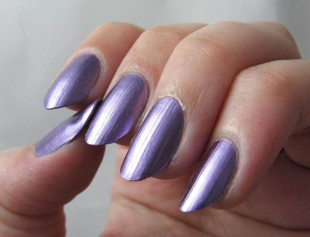 Sally Hansen Color Foil Purple Alloy Swatch