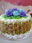 Basketwave Cake