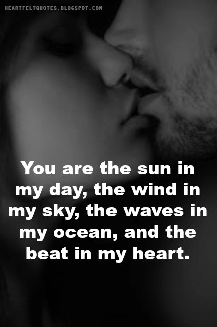 You are the sun in my ...
