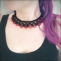 https://www.etsy.com/listing/246343707/knotted-lace-choker-armenian-lace-oya?