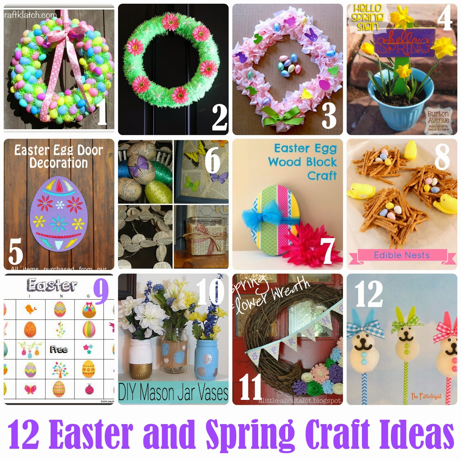 Craft adults Spring for
