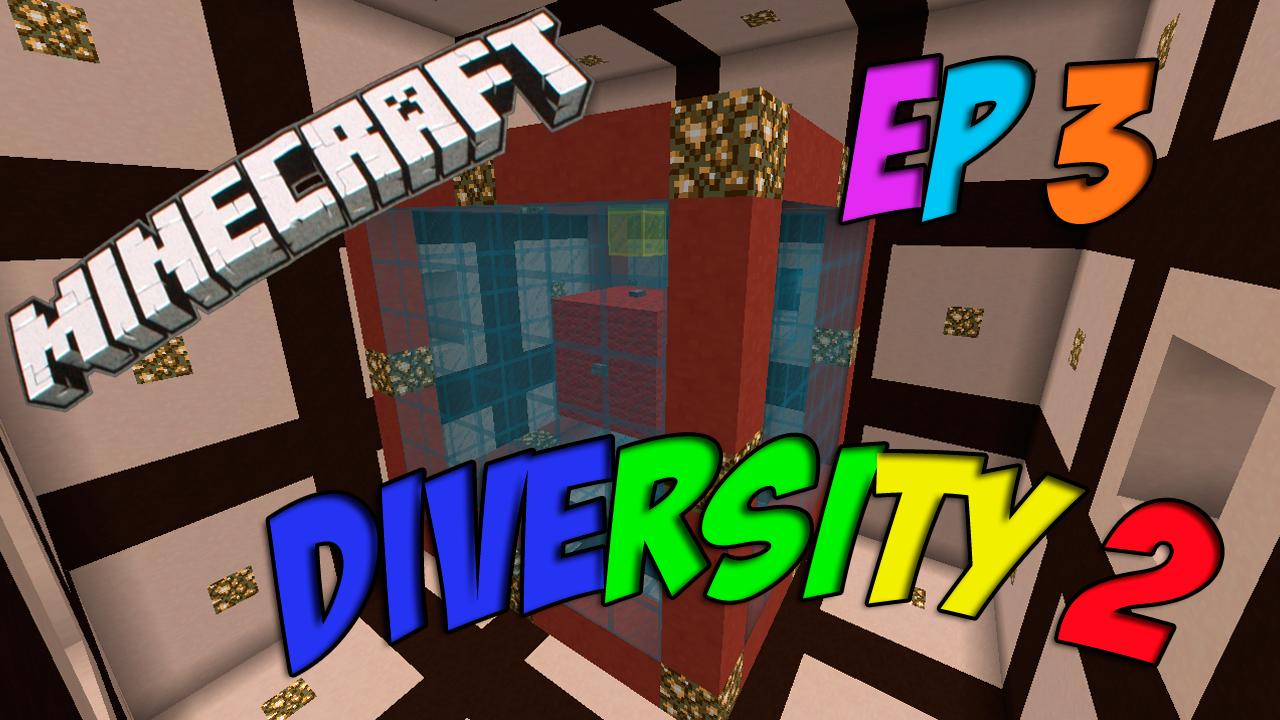 Minecraft 1.8 Diversity 2 ep 3 - TRIVIA - Aprendiendo de Minecraft