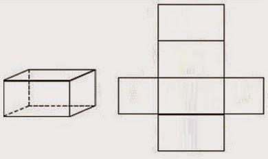 Tahukah kalian apabila sebuah bangun ruang kita belah kemudian masing Gambar Jaring Jaring Bangun Ruang Lengkap