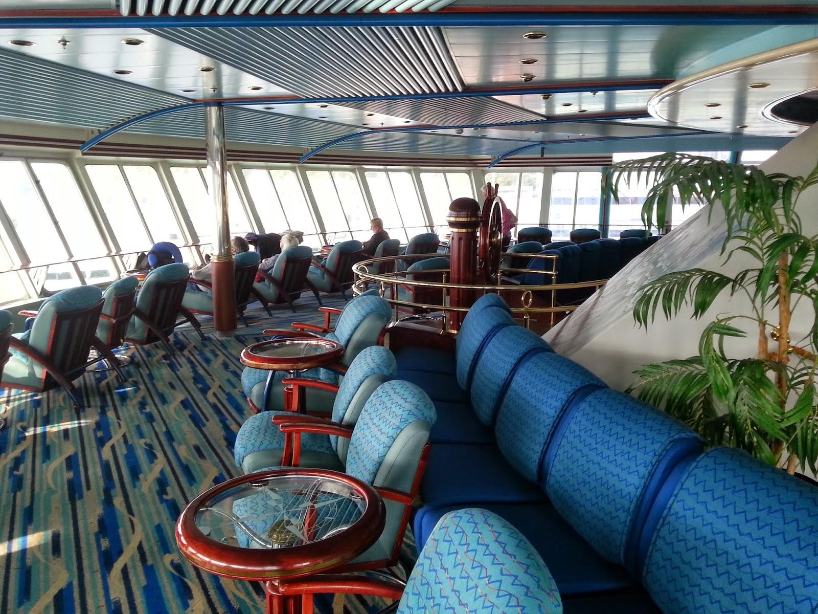 Hurtigruten MS Nordkapp - Polarsirkelen Observation Lounge