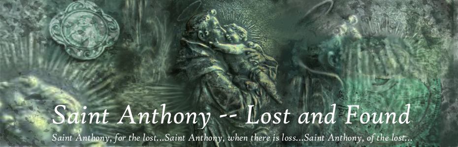 Saint Anthony -- Lost and Found