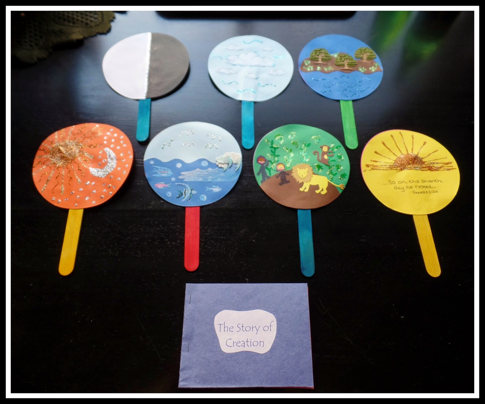 New Years Wishing Wand together with Children Of The World Coloring Sheet together with Makining Lion Masks And Paper Creations in addition Bible lessons together with Simply Sunday School Creation Story. on earth day activities for kids sunday
