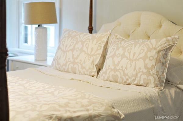 a fresh duvet cover with crane canopy julia ryan. Black Bedroom Furniture Sets. Home Design Ideas