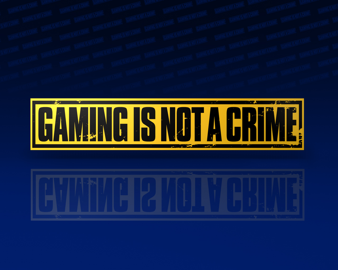 http://3.bp.blogspot.com/-SXweFSjPevo/UAOvx_RHoyI/AAAAAAAABI0/S7mwj08eWTc/s1600/gaming+is+not+a+crime+wallpaper+background+yellow+tape+blue.jpg