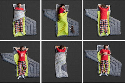 10 Creative Sleeping Bags And Unique Sleeping Bag Designs