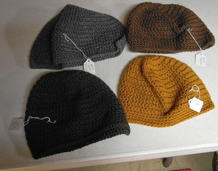 Crocheting For The Homeless : Bridge and Beyond: Crocheted Hats for Homeless in Ohio