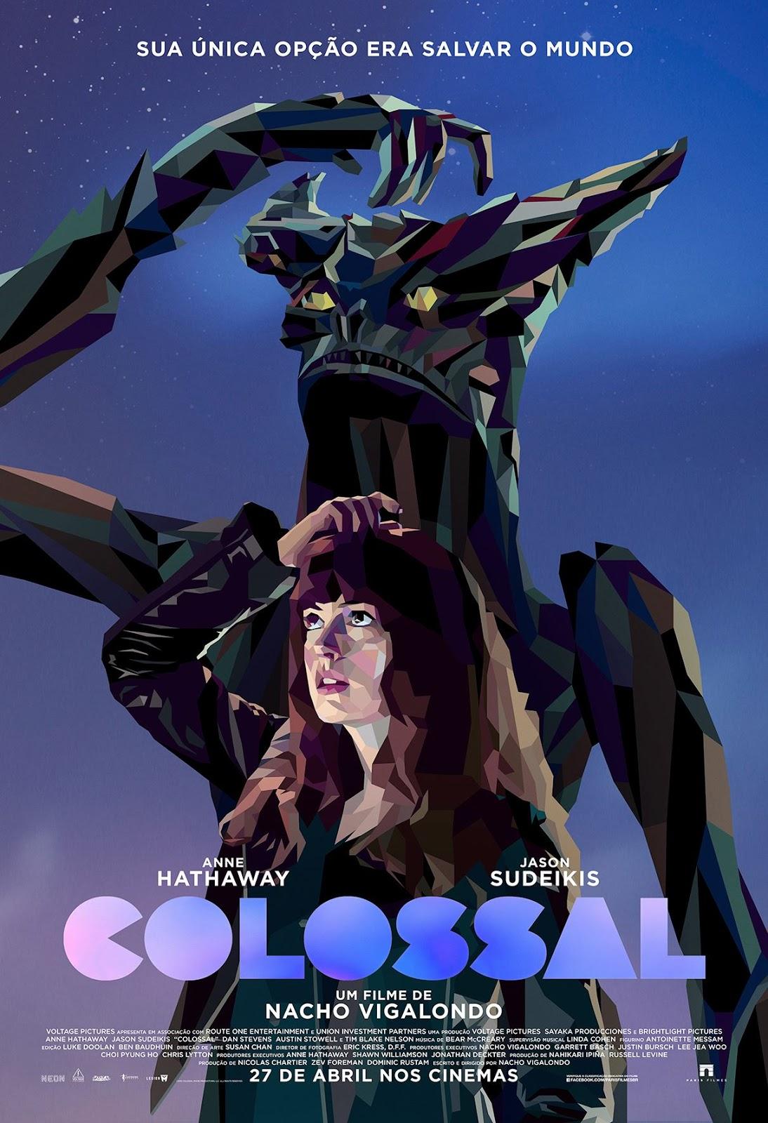 Filme Poster Colossal