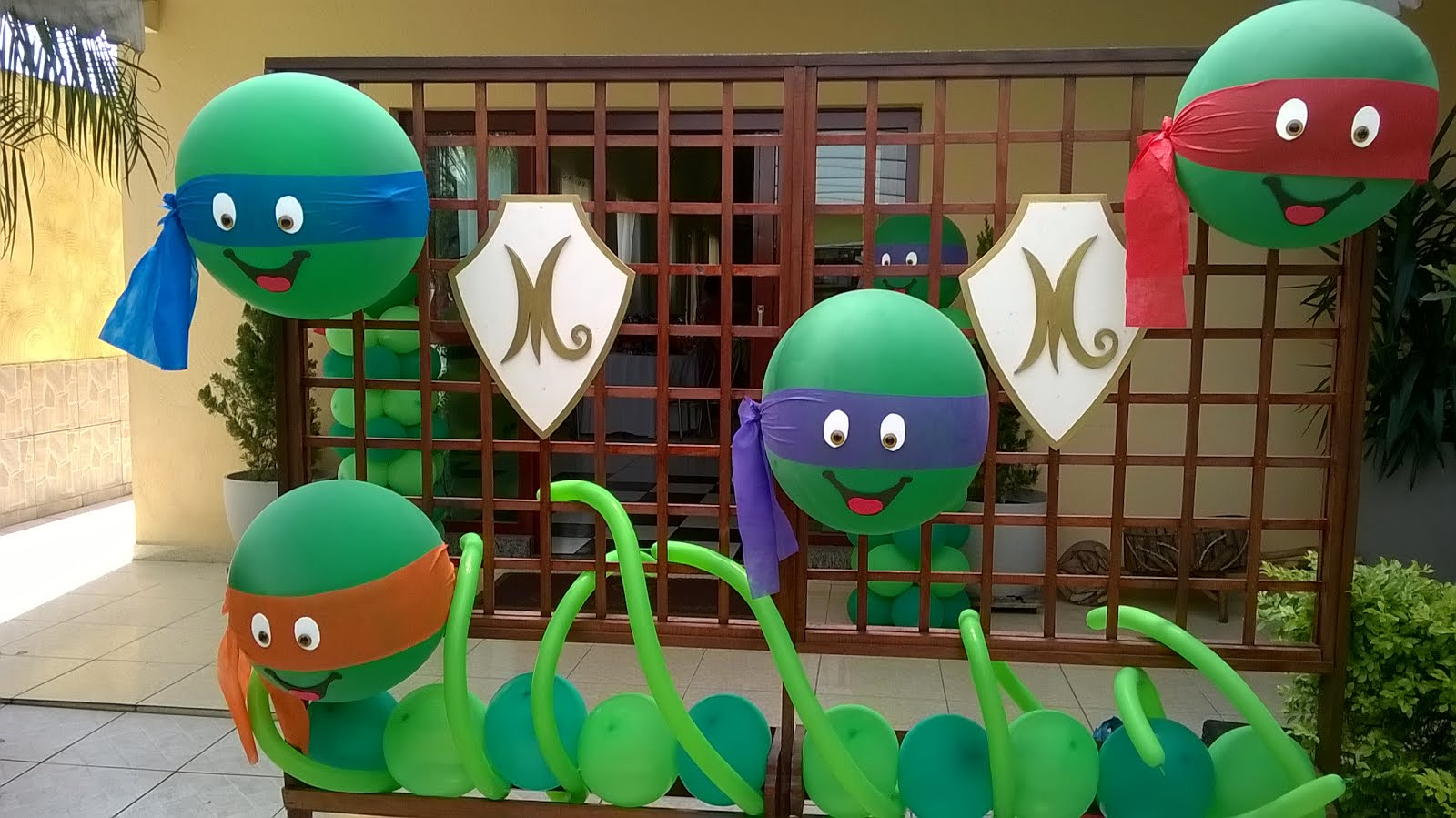 Tartarugas Ninjas balão