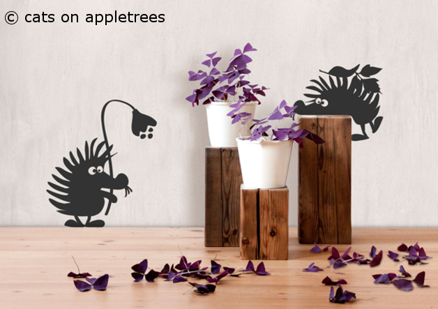 fotogruesse vorfreude 13 cats on appletrees. Black Bedroom Furniture Sets. Home Design Ideas