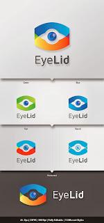 EyeLid Logo Template