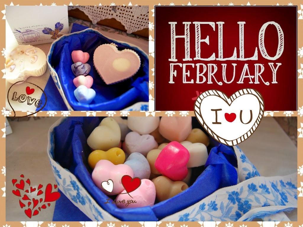 Jabones de corazones para San Valentín