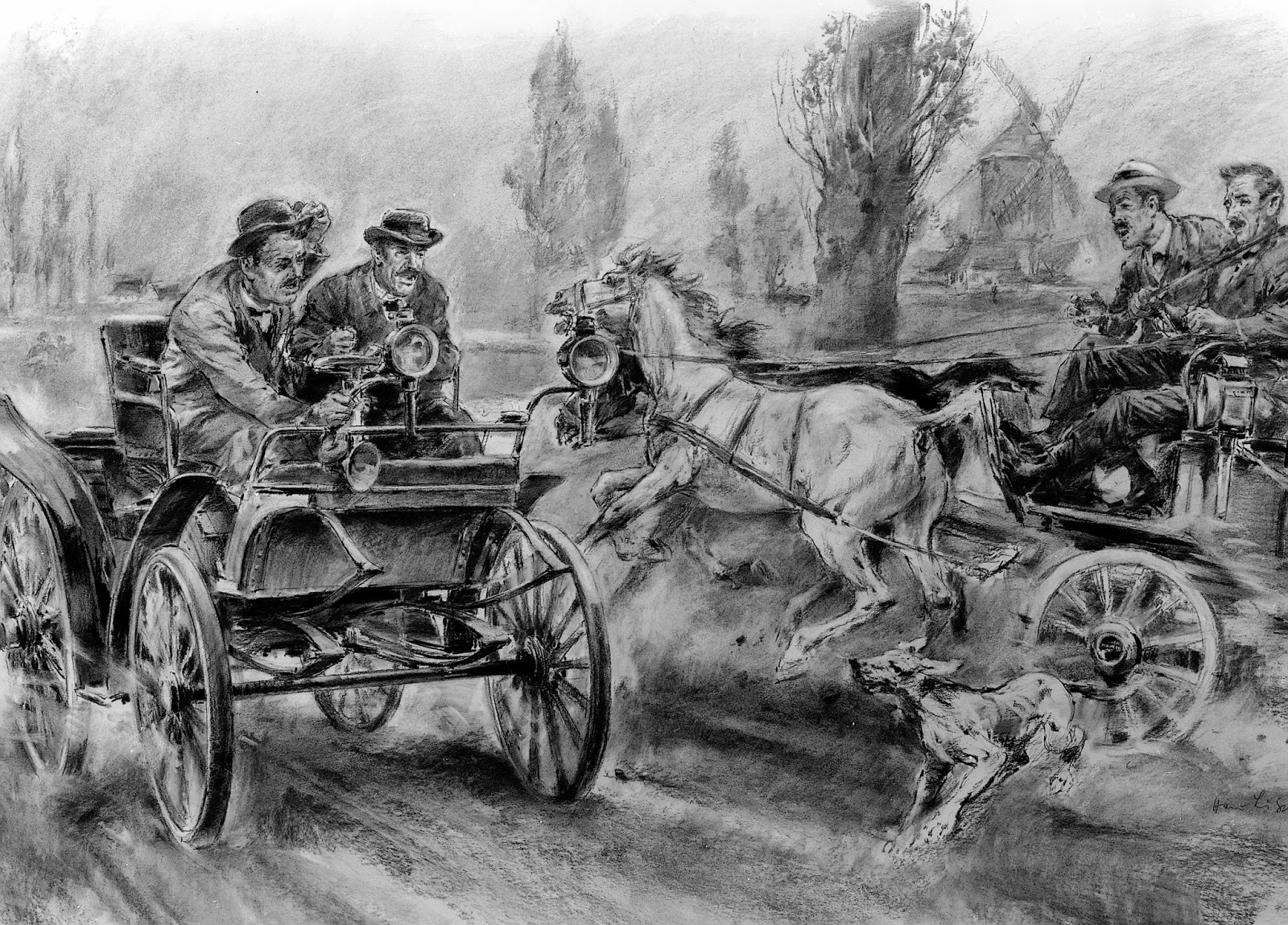 The Automobile and American Life: The First Great Automobile Race ...