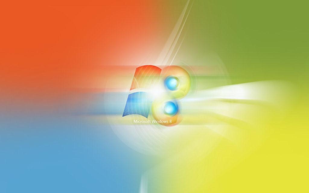 Colourful Windows 8 Wallpaper