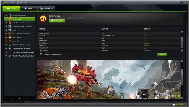 NVIDIA continues to evolve its GeForce Experience and its ShadowPlay technology tool. All goes into effect today in version 1.8 to make some fixes, but also many additional features players enthusiasts of the brand.