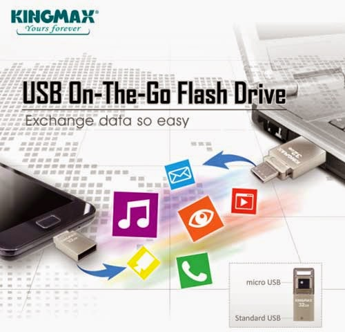 KINGMAX PJ-02 Dual Interface (OTG-USB)