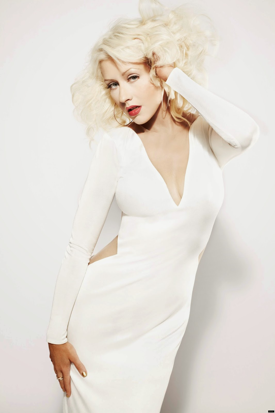 image Christina aguilera 2013 photoshoot
