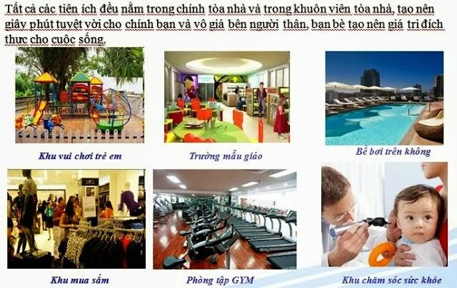 Tiện ích Chung cư park state Xuân Mai