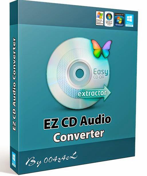 EZ CD Audio Converter - утилита для преобразования аудио-CD в качественные