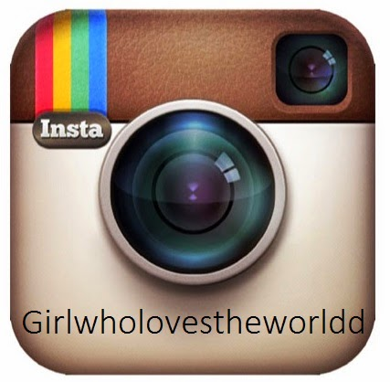 I'm also on Instagram! Girlwholovestheworldd