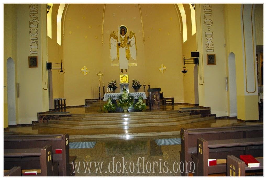 ślubna dekoracja kościoła św Michała Opole Półwieś