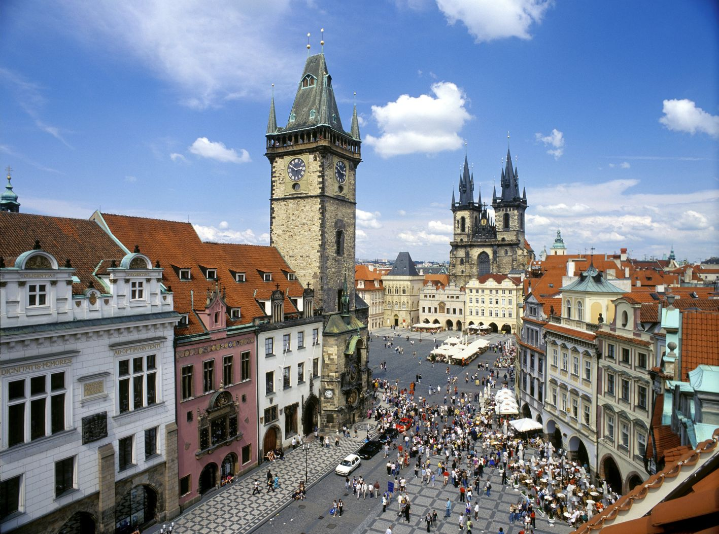 prague czech republic tourist destinations