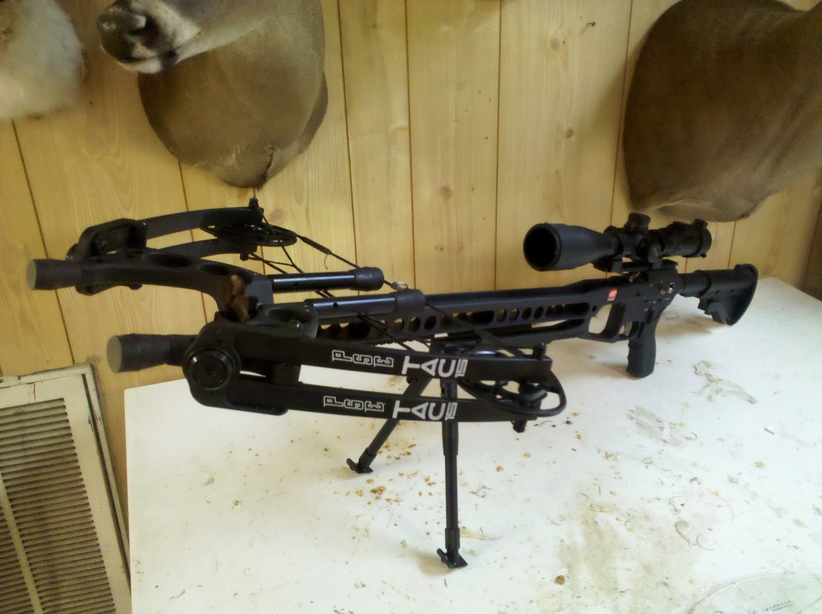 TAC 15 http://704outdoors.com/playing-with-the-pse-tac-15-crossbow/