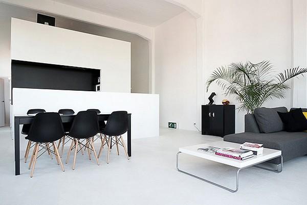 Casa minimalista de colores contrastantes ideas para - Diseno interior minimalista ...