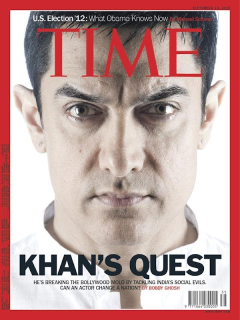 Aamir Khan graces the cover of Time Magazine