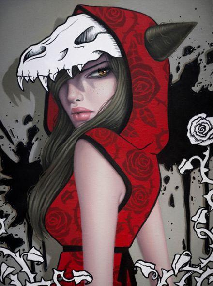 sarah joncas pinturas mulheres